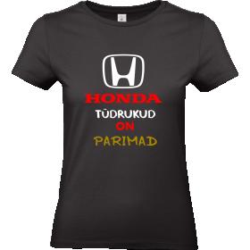 Honda tüdrukud on parimad